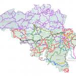 carte de GR de Belgique